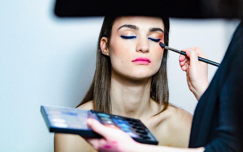 Backstege make-up ombretto